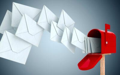 Dämmen Sie die E-Mail-Flut